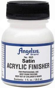 Angelus Finisher Satin 29,5ml (20,17€/100ml) für Lederfarbe schützt akzentuiert