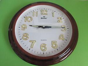 new decorative wall clock glow in the dark size