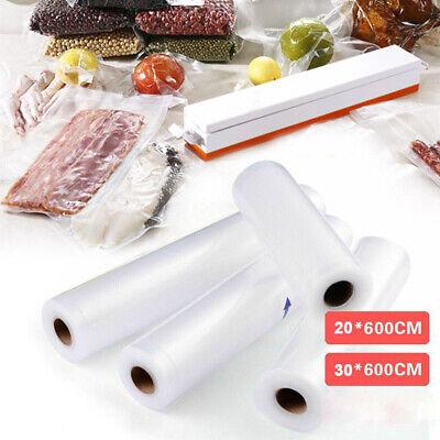 2 Rollen Vakuumierfolie 600 x 20//30 cm Vakuumierfolie Vakuumierbeutel Qualität
