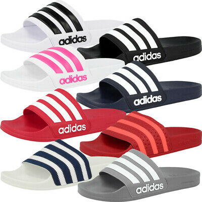 Adidas Adilette Shower Badelatschen Badeschuhe Sandale Schuhe Slipper Pantolette   eBay