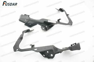 2012-2014 HONDA CIVIC FRONT UPPER BUMPER HEADLIGHT SUPPORT BRACKETS PAIR NEW