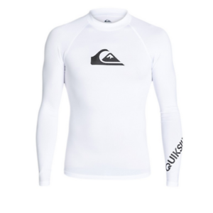 All-Time-Lycra-manches-longues-UPF-50-QUIKSILVER-rashguard-EQYWR03034-white
