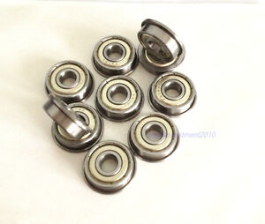 New 20pcs Flange Ball Bearing F606ZZ 6*17*6 mm Metric flanged Bearing