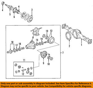 image is loading toyota-oem-07-17-tundra-rear-differential-pinion-