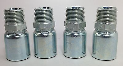 """PARKER 106HY 16 16 1 5//16/"""" HYDRAULIC HOSE FITTINGS SET OF 4 NEW *FREE SHIPPING*"""