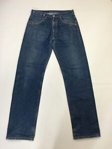 Men-039-s-Levi-Retro-511-039-Straight-039-Jeans-W32-L34-Navy-Wash-Great-Condition