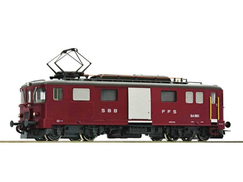ROCO 78656 e-bagagli trainante carrello de 4/4 1668 SBB h0 AC