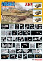1/35 Dragon Tiger 1 Late Production (3 In 1), Pz.kpfw. Vi Ausf. E - 6253