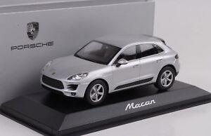 Auto- & Verkehrsmodelle Modellbau Porsche Macan 2013 Silber 1:43 Minichamps Wap Dealer Ausreichende Versorgung