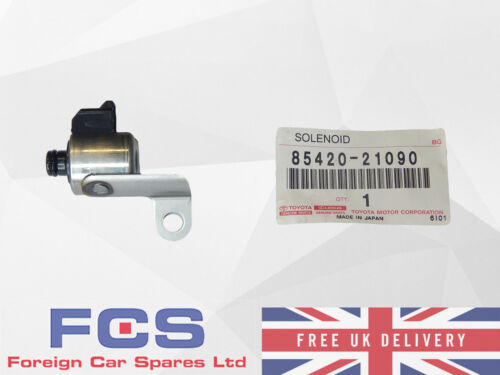* Nuovo Genuine Toyota TRASMISSIONE solenoide assembly 85420-21090