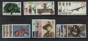 GB 1974 Commemorative Stamps Year SetUnmounted MintUK Seller - <span itemprop=availableAtOrFrom>great yarmouth, Norfolk, United Kingdom</span> - Faulty or defective items, can be returned within 30 days,of receipt, for replacement or refund, in most cases return postage will be paid Most purchases from business sel - great yarmouth, Norfolk, United Kingdom