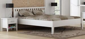 Bett weiß 160x200  PAULA Bett Doppelbett Holzbett 160x200 Art. 7016 Kiefer massiv ...