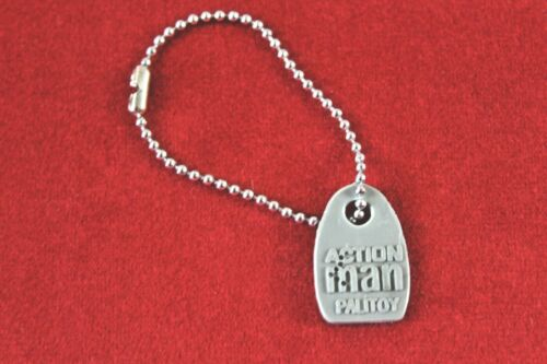 VINTAGE ACTION MAN Dog Tag Grigio Repro