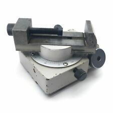 Mitutoyo 172 144 Optical Comparator Horizontal Rotary Vise 360 82 X 40mm Jaws