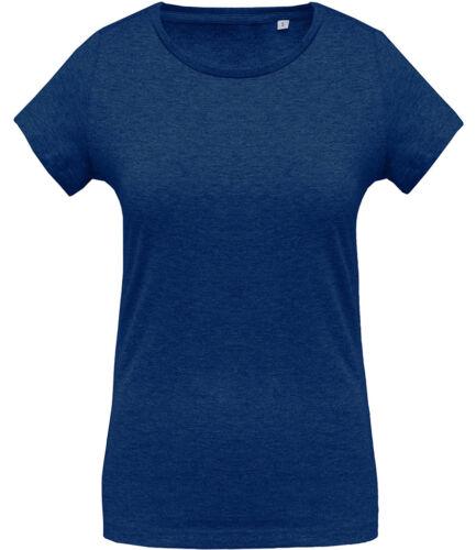 Kariban Ladies Organic Crew Neck T-Shirt
