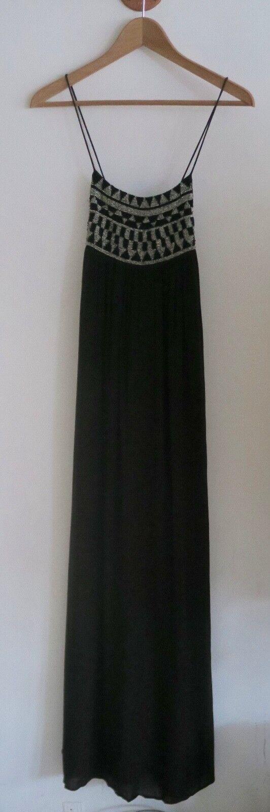 Amuse Society Blac Long Boho Dress size size size S 1899ca