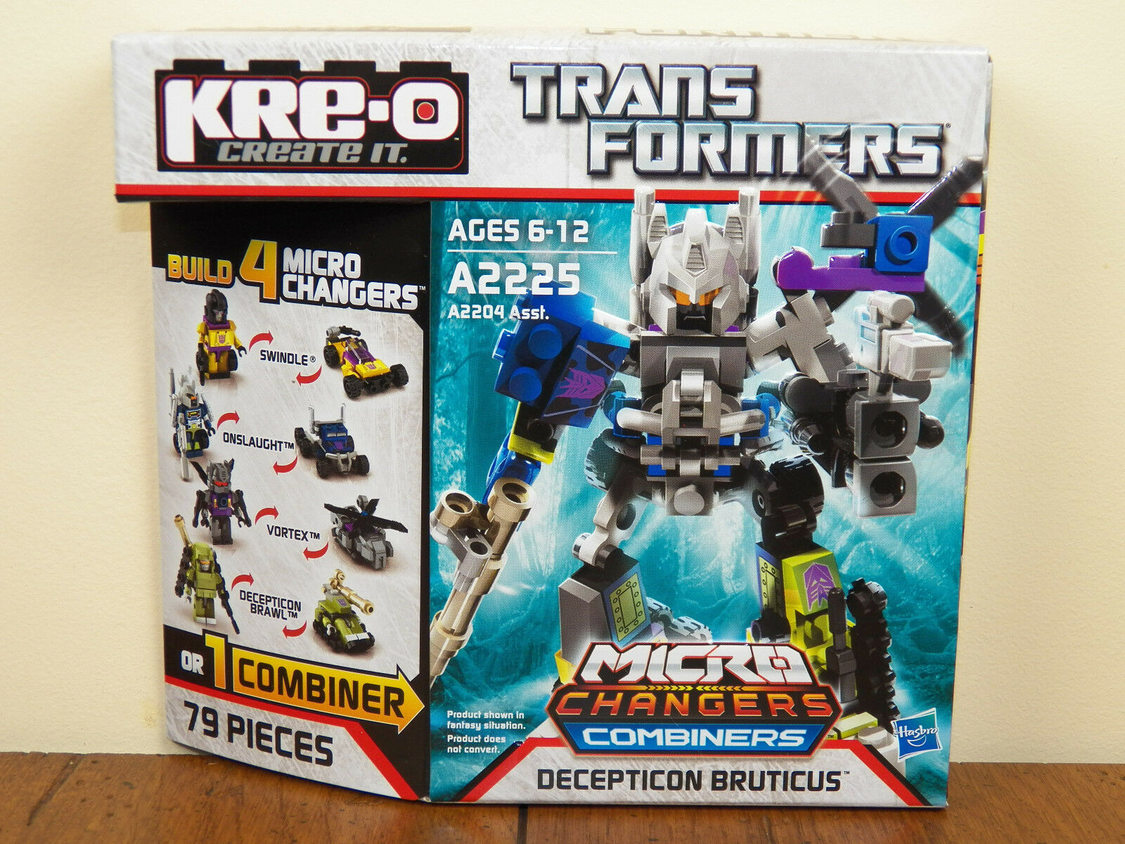 Kre-O Transformers Decepticon Bruticus Micro Changers Combiners Kreo A2225 NEW