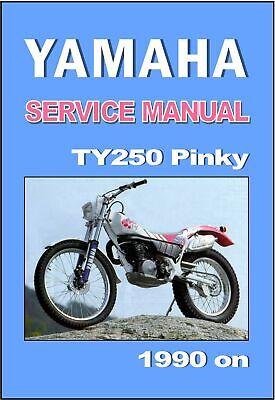 Yamaha YSR50 Service /& Repair Manual YSR-50 1987 1988 1989 1990 1991 1992
