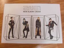 2NE1 - CRUSH NEW ALBUM  [ORIGINAL POSTER] *NEW* K-POP