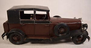 Vintage-Model-Toy-Car-Metal-Classic-Rolls-Royce-Handmade-Vehicles-15-034