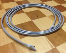 Dental Air Water Syringe Tubing 7 Hose With Sleeve Fittings Gray