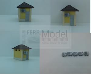 FERRMODEL-160-Set-climatizzatori-condizionatori-per-stazione-FS-Scala-H0-5p