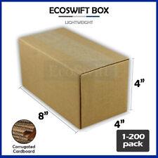1 200 8x4x4 Ecoswift Cardboard Packing Mailing Shipping Corrugated Box Cartons