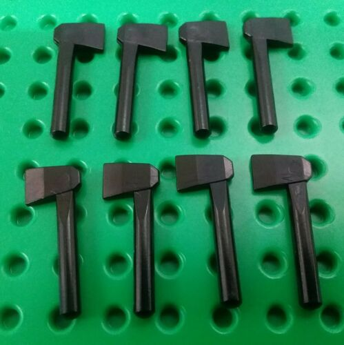 *NEW* Lego Black Axes Worker Tools for Minifigs People Figs - 8 pieces