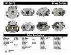 Disc Brake Caliper Front Right Centric 141.34075 Reman