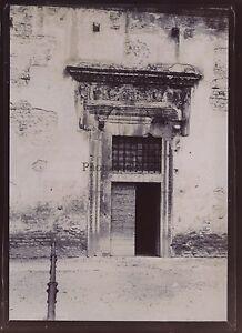 Spoleto Sant'Agostino Italia Foto Amateur Vintage Citrato 1899