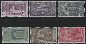 Portugal-1931-Scott-528-Thru-533-Ensemble-Complet-Comme-neuf-charniere
