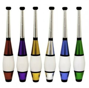 Set-of-3-039-Euro-Classic-039-Juggling-Clubs-6-colours-Circus-Pins-by-Juggle-Dream