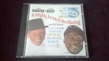 FRANK SINATRA - COUNT BASIE - IT MIGHT AS WELL BE SWING CD - EX CON