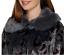 bleu Collection fausse noir Dennis taille manteau marine en Xxs fourrure Jacquard 199 Platinum Basso TXXw8E