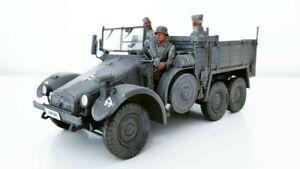 1-32-Krupp-Protze-Wehrmacht-mit-3-Mann-Besatzung-und-Ladegut-fuer-Diorama
