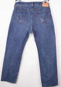 Levi's Strauss & Co Herren 751 Gerades Bein Jeans Größe W38 L32 BBZ352