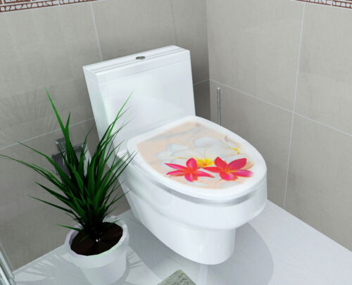 DIY 3D Toilet Lid Seats Cover Wall Stickers Bathroom Decal Mural Home Decoration