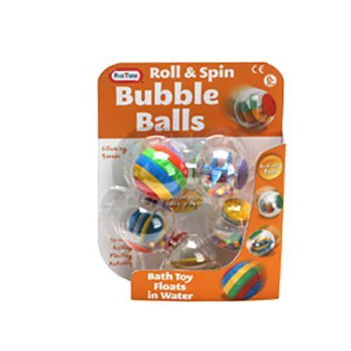 Fun Time Roll And Spin Bubble Activity Balls 0m+