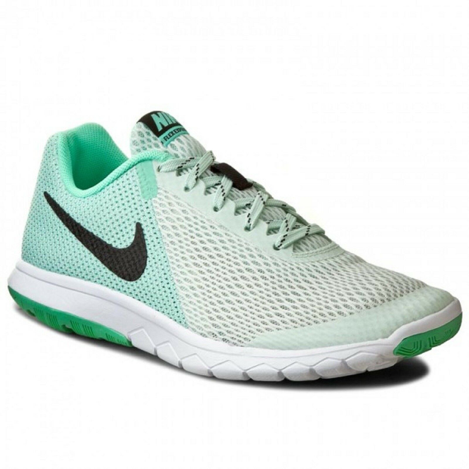 NIKE Womens 'FLEX EXPERIENCE RN 5' Running shoes Green Blck White  Sz. 8.5 M NIB