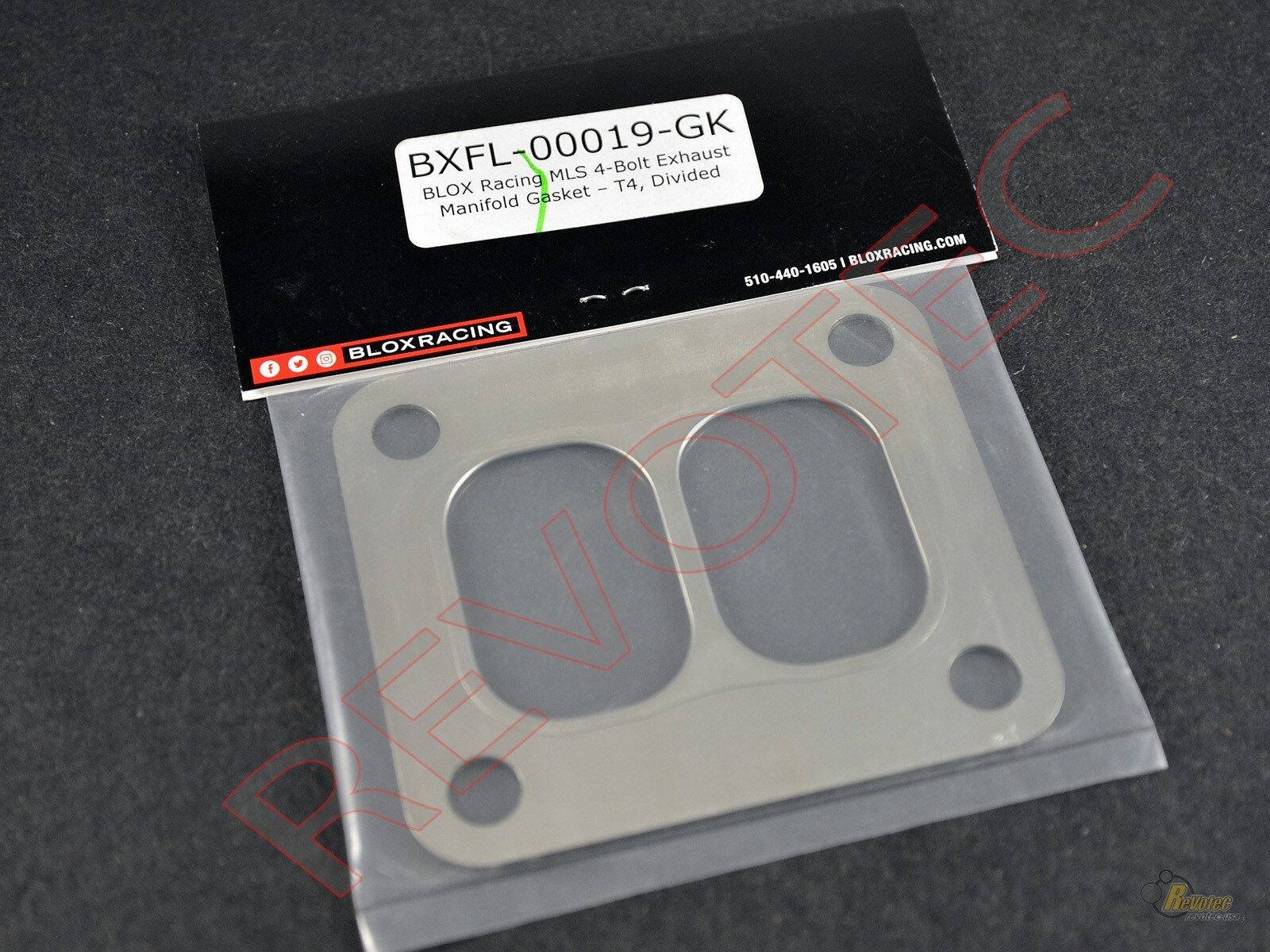Divided Blox Racing BXFL-00019-GK MLS 4-Bolt Exhaust Manifold Gasket T4