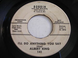 PROMO-Albert-King-I-039-ll-Do-Anything-You-Say-Some-Changes-1963-45rpm