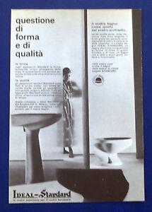 A690-Advertising Pubblicità-1960-IDEAL STANDARD - BAGNI | eBay