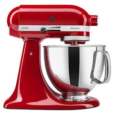 KitchenAid Stand Mixer tilt 5-QT RRK150 Artisan Tilt Choose From Many Colors