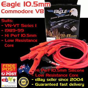 Eagle-RED-10-5mm-Ignition-Spark-Plug-Leads-V8-Fits-Holden-Commodore-VN-VT-88-00