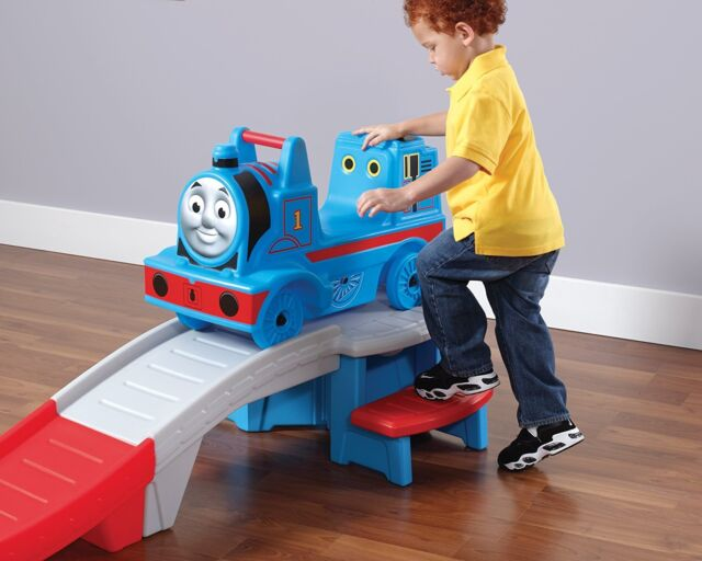 Ride On Play Set Thomas Train Tank Engine Up Down Roller
