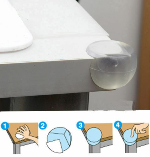 10x  Child Baby Safe silicone Protector Table Corner Edge Protection Cover JKHWC