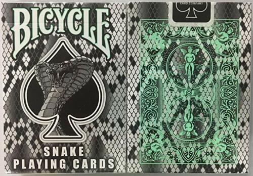 Leopard,Giraffe,Snake or Zebra Rare Bicycle Skin Back Playing Cards Deck Tiger
