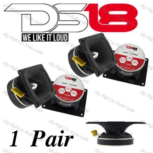 """DS18 PRO TW510 1.5/"""" VC Super Loud Bullet Tweeters 4ohm 1 Pair"""