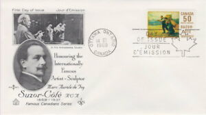 CANADA-492-50-SUZOR-COTE-ON-ROSE-CRAFT-CACHET-FIRST-DAY-COVER