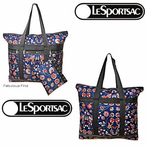 LeSportsac-Blissful-Vision-Large-Travel-Tote-Cosmetic-Bag-NWT-Free-Ship-D959